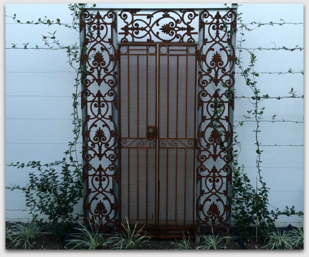 Gates on wall from gumtree