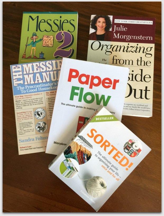 Organising books