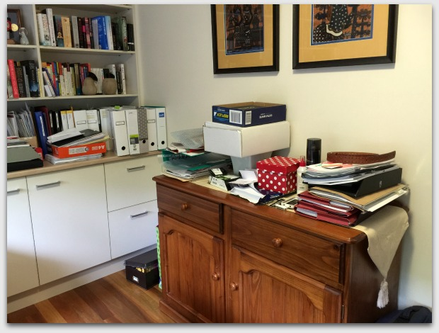 Messy study