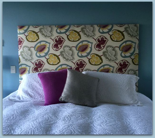 warwick fabric upholstered bedhead